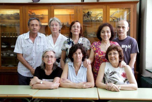 Profesores integrantes de la Comisión de Patrimonio